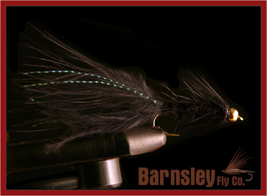 Wooly Bugger Black - Size 8