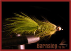 wooly bugger olive streamer fly
